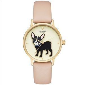 Kate Spade New York 38MM French Bulldog Watch